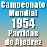 Partidas del Campeonato Mundial de Ajedrez 1954