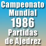 Partidas del Campeonato Mundial de Ajedrez 1986