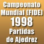 Partidas del Campeonato Mundial de Ajedrez 1998 de la FIDE