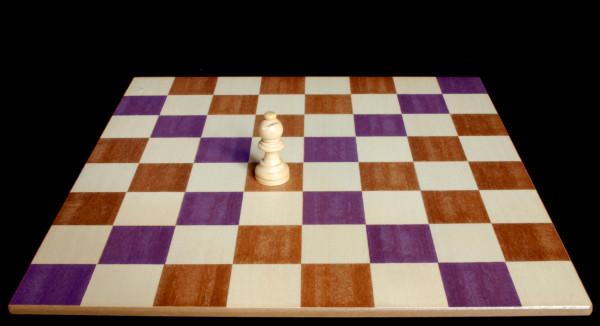 El Alfil sobre la casilla negra donde se puede mover :: Pieza del Ajedrez :: Aprender a jugar ajedrez