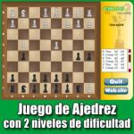 Chess Millennium – Juego de Ajedrez con 2 niveles de dificultad