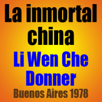 La inmortal china – Li Wen Che vs Donner – Buenos Aires 1978