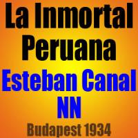 La Inmortal Peruana – Esteban Canal vs NN – Budapest 1934