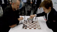 Partida Blitz de Ajedrez entre Magnus Carlsen vs Espen Agdestein