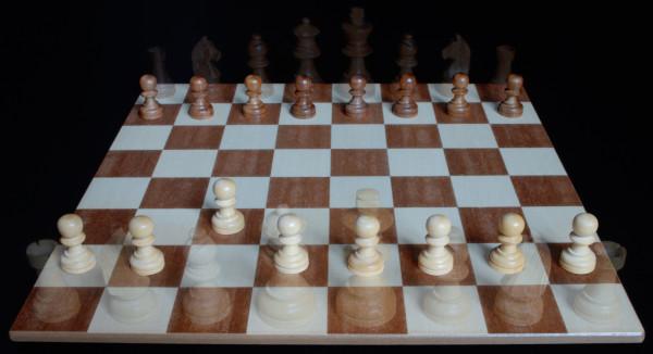 En su posición inicial el Peón puede hacer un paso... :: Aprender a jugar ajedrez