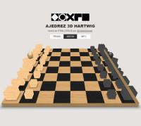 Ajedrez 3D Hartwig – El Ajedrez de la Bauhaus