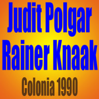 Judit Polgar vs Rainer Knaak – Colonia 1990