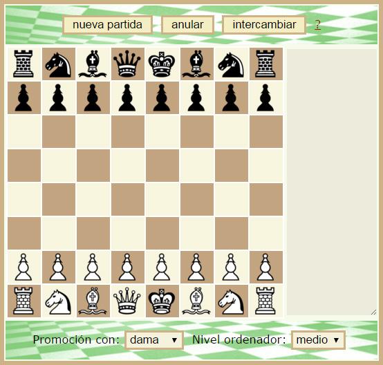Resultado de imagen para imagen ajedrez en una pc