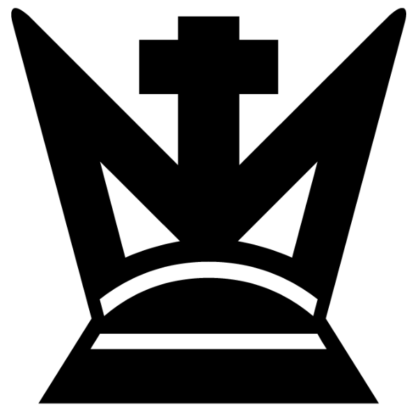 Rey negro :: Font de Ajedrez Chess Harlequin :: Fuente