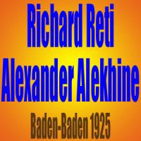 Richard Reti vs Alexander Alekhine – Baden-Baden 1925