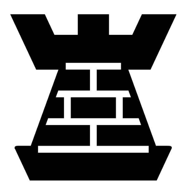 Torre negra :: Font de Ajedrez Chess Harlequin :: Fuente