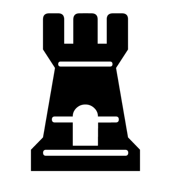 Torre negra :: Font de Ajedrez Chess Medieval :: Fuente
