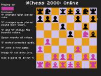 WChess 2000 Online – Juego asíncrono multijugador en linea
