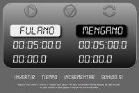 Reloj Digital para jugar al ajedrez en linea y gratis