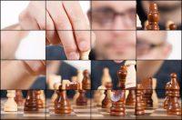 Rompecabezas deslizante: Jugador de ajedrez