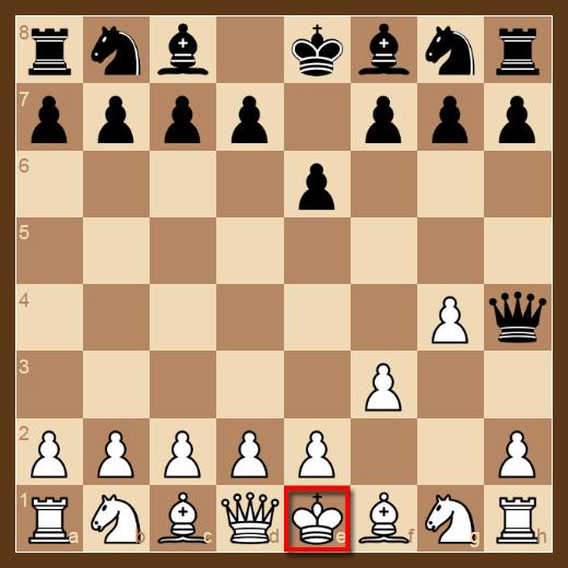 Si el Rey no tiene manera de escaparse de un Jaque o ataque, la posición se llama Jaque Mate y la partida termina.