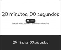 Reloj de Ajedrez Blanco y Negro