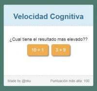 Juego de Velocidad Cognitiva