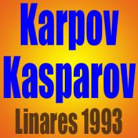 Anatoly Karpov vs Garry Kasparov • Linares 1993