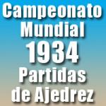 Partidas del Campeonato Mundial de Ajedrez 1934