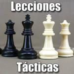 Lecciones tácticas de ajedrez
