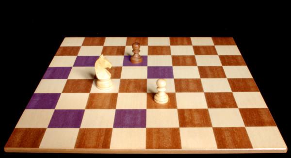 El Caballo como y donde se puede mover o capturar :: Pieza del Ajedrez :: Aprender a jugar ajedrez