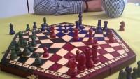 El ajedrez de tres jugadores