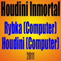 Houdini Inmortal – Rybka (Computer) vs Houdini (Computer) – 2011