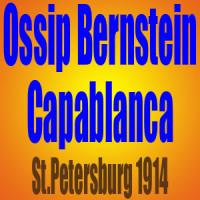 Ossip Bernstein vs Jose Raul Capablanca – St.Petersburg 1914