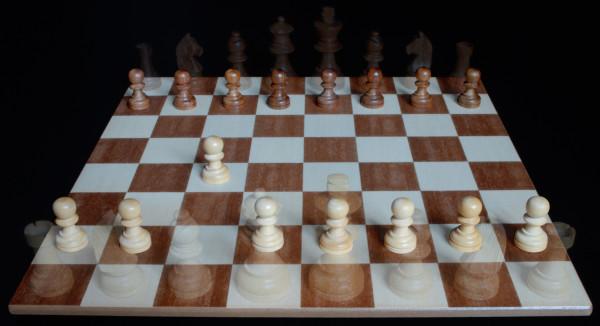 En su posición inicial el Peón puede hacer dos pasos... :: Aprender a jugar ajedrez