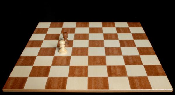 Situación denominada Peón inmóvil :: Aprender a jugar ajedrez