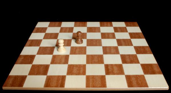 El Peón con posibilidad de captura en diagonal :: Aprender a jugar ajedrez