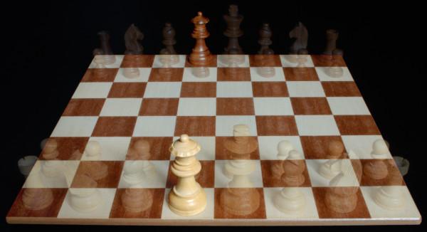 Posición de la Reina :: Pieza del Ajedrez :: Aprender a jugar ajedrez