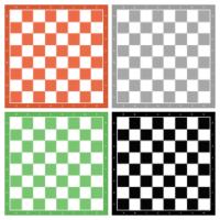 Tableros de ajedrez para imprimir