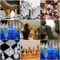 Juego de memoria con fotos de ajedrez