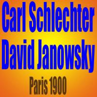 Carl Schlechter vs David Janowsky • Partida de Ajedrez • París 1900