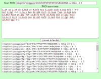 Convertidor de archivo PGN en notación FEN