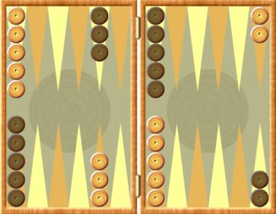 Juego del backgammon para jugar contra el ordenador o un amigo.