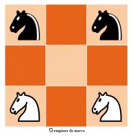 Juego de los cuatro caballos