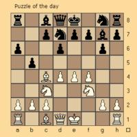 Problema del día de ajedrez