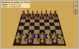 Juego de Ajedrez960 de Fischer