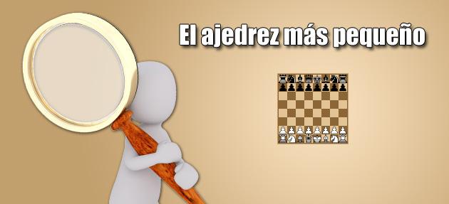 El juego de ajedrez más pequeño de 100×100 píxeles