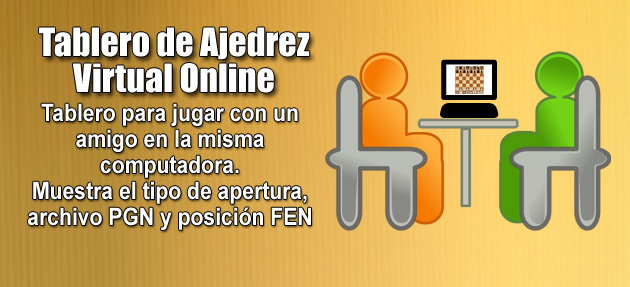 Tablero de Ajedrez Virtual Online