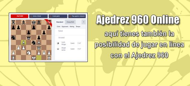 Plataforma de Ajedrez Clásico y Ajedrez 960 Online