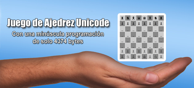 Juego de Ajedrez Unicode