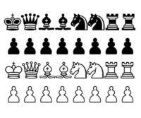 Piezas de ajedrez para imprimir
