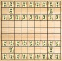 Juego de Ajedrez Japones Shogi para imprimir