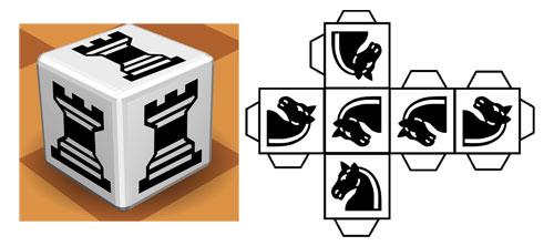 Piezas de ajedrez para imprimir y construir