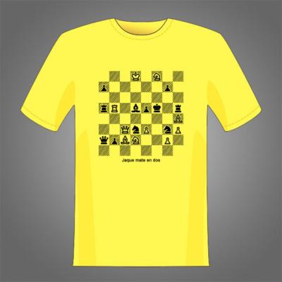 Problema de Ajedrez para estampar camisetas