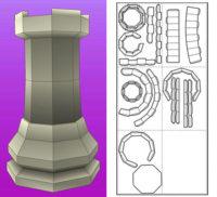 La Torre del Ajedrez para construir